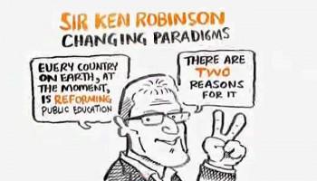 Canviant paradigmes educatius, Ken Robinson